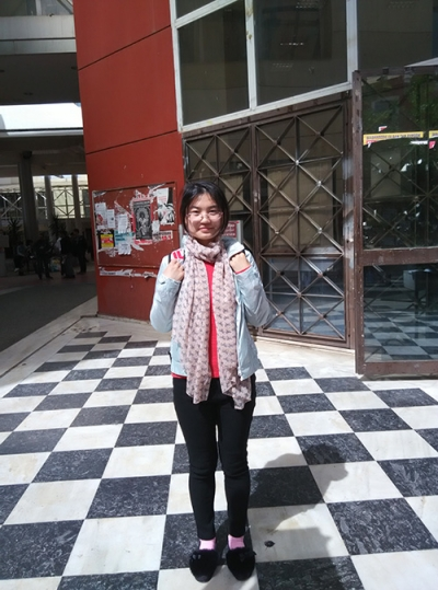 Erasmus+ International Mobility, Li Xinghua, MA Student, China