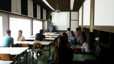 Erasmus+ International Mobility, Assist. Prof. A. Andrikopoulos (University of the Aegean) at University of Novi Sad, Serbia