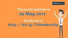 Διαδικτυακά μαθήματα για την ανάπτυξη της ηγεσίας στο σχολείο από το School Education Gateway. Έναρξη 29 Μαΐου 2017!